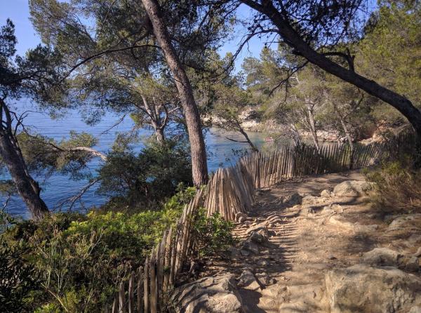 Sentier littoral st cyr