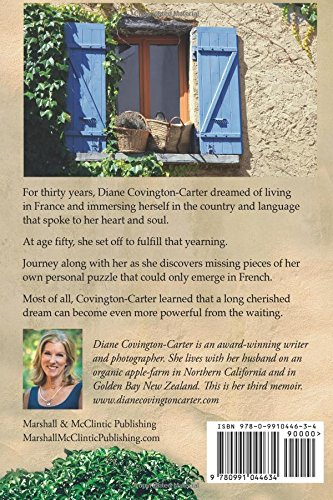 Eight Months in Provence - back cover