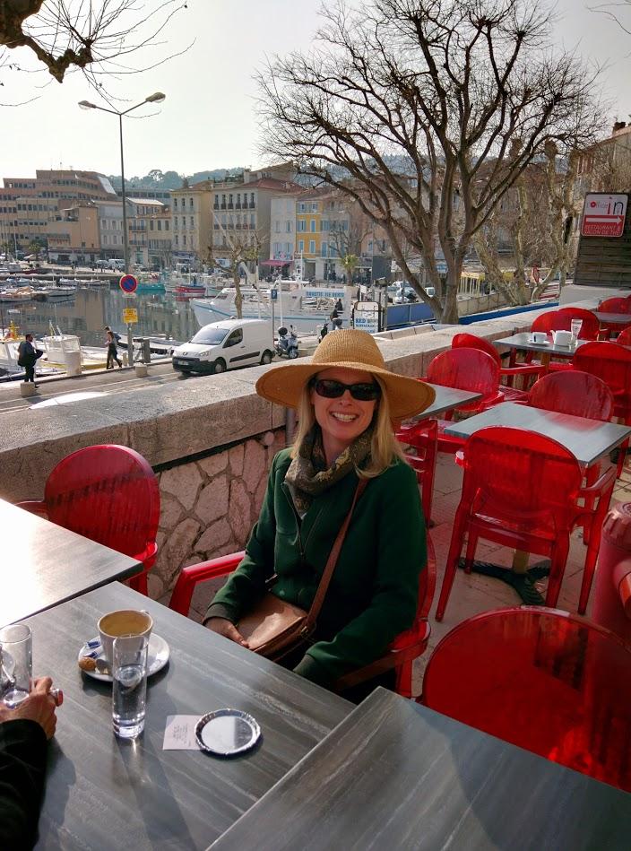 Kristi at the port of la Ciotat