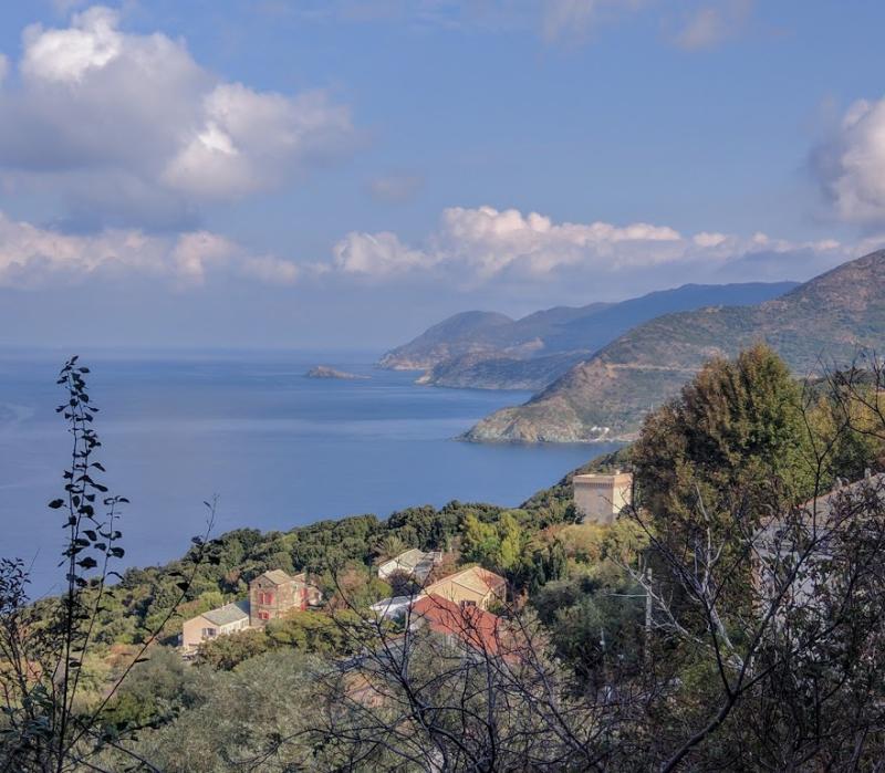 Corsica where the mountains meet the sea