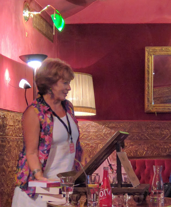 Patricia Sands in Nice at Scotch Tea House