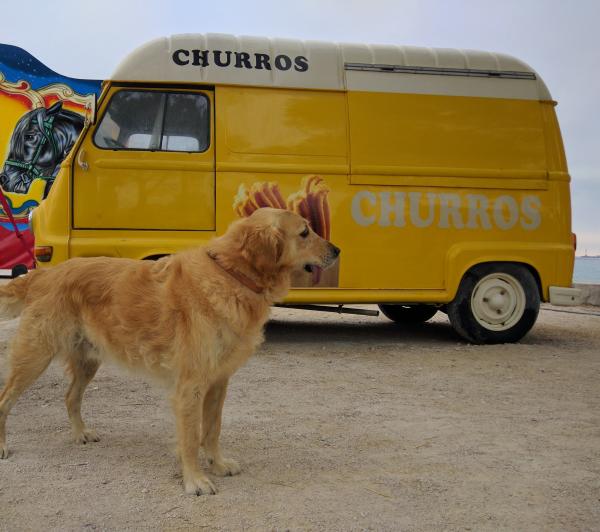 Smokey and the churros van