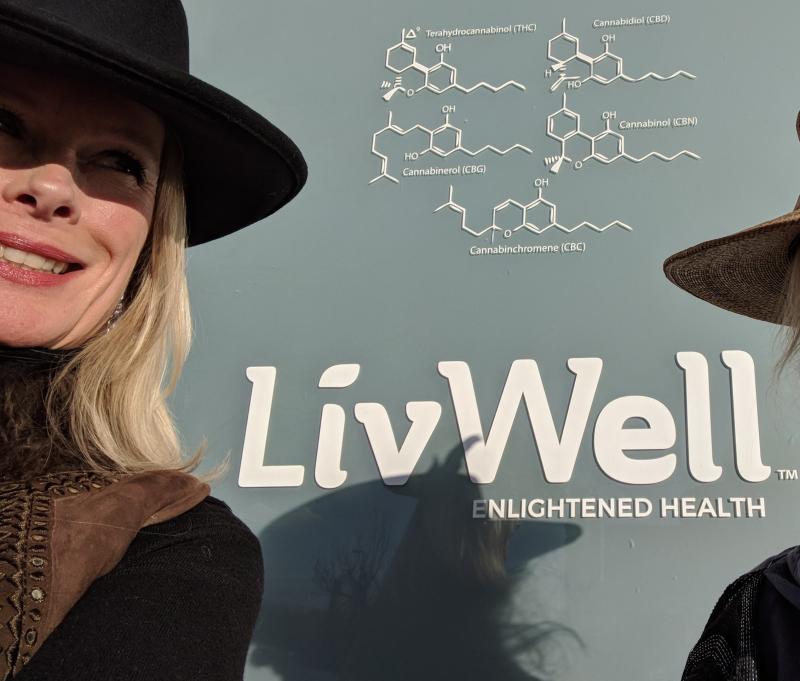 Outside livwell medicinal marijuana dispensary in denver colorado