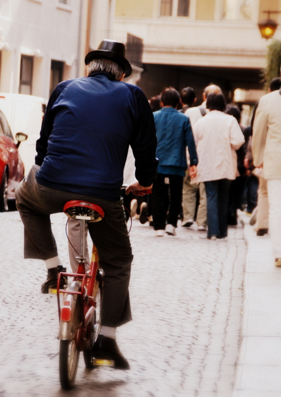 Biker in Italy