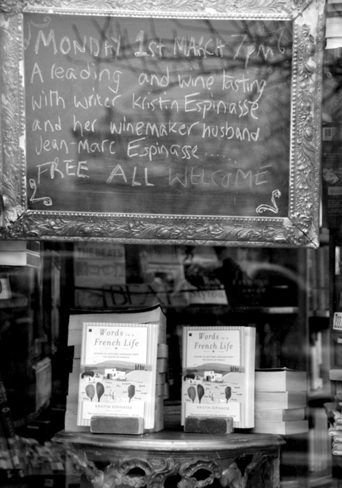 Shakespeare and Company bookstore Paris (c) Kristin Espinasse