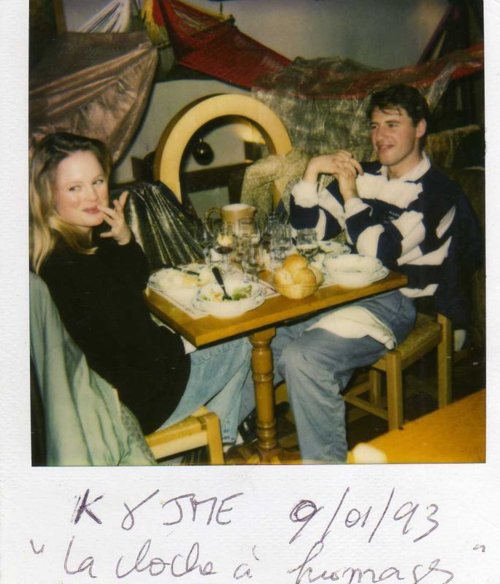 Jean-Marc and Kristi in 1993