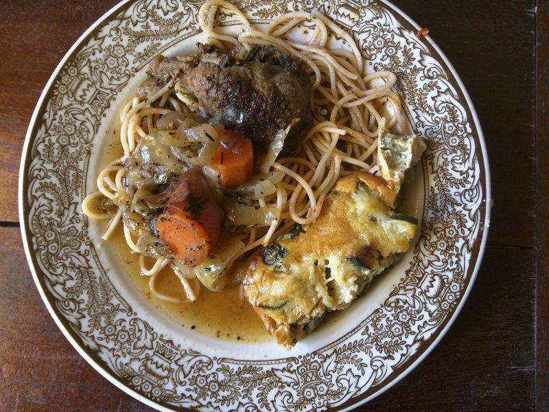 Spagetti-gratin
