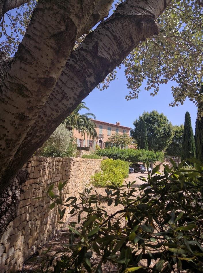 Chateau de Pibarnon facade