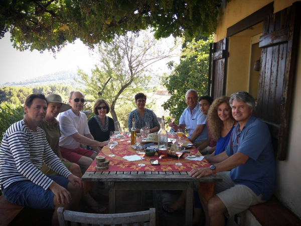 Winetasting july 2017
