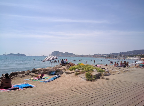 Beach in la ciotat