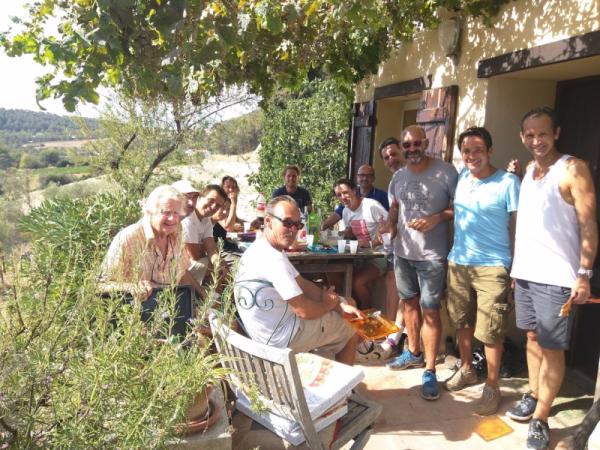 2016 harvest at mas des brun st cyr-sur-mer