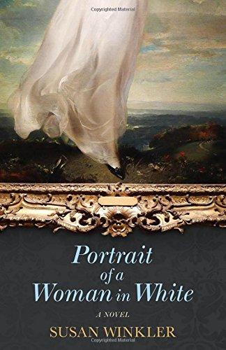 Portrait of a woman in white by Susan Winkler