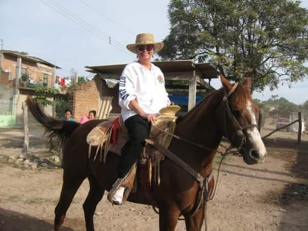 Mom jules horse puerta vallarta foothills