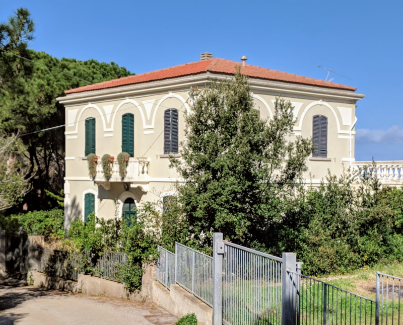 Villa in elba