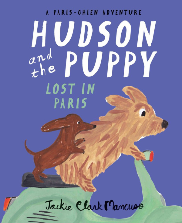 Hudson and the Puppy lost in Paris