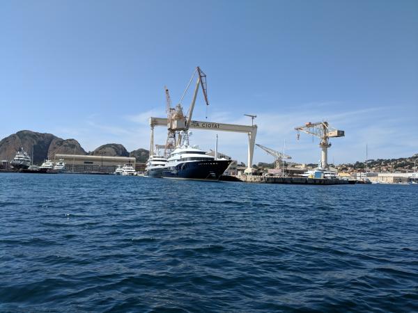 La ciotat shipyard yachts boats
