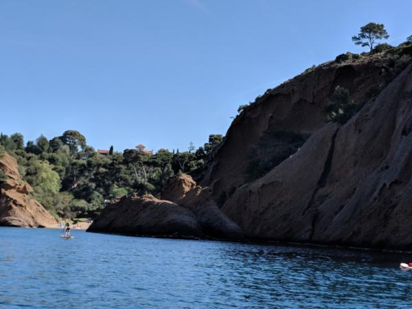 Figuerolles calanque beach la ciotat coastline
