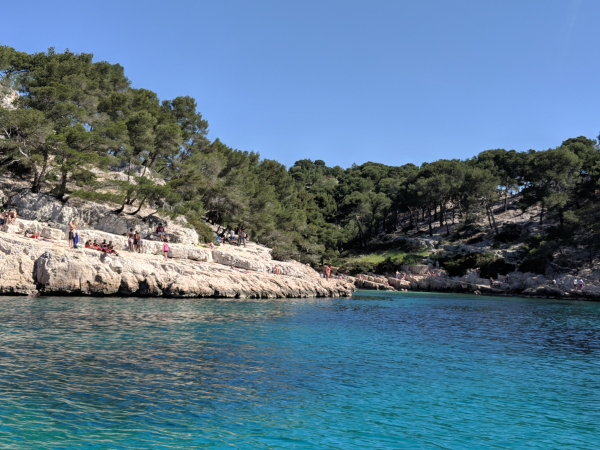 Near calanque En Vau this is Port Pin