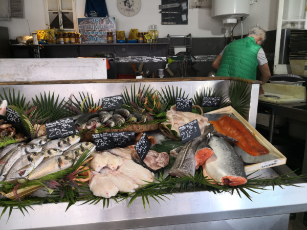 poissonnerie la ciotat fish on ice thon loup dorade fishmonger