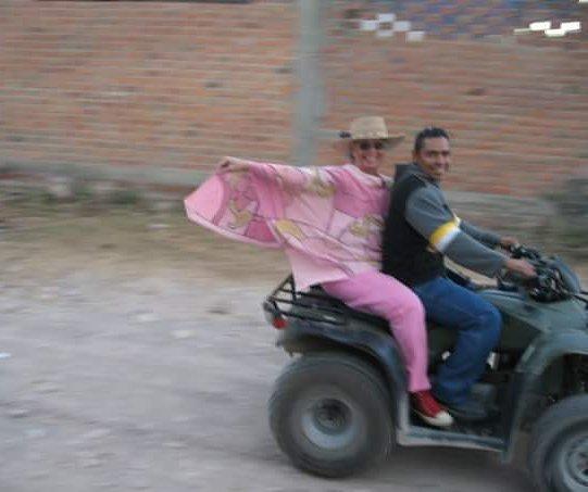 Mom on wheels