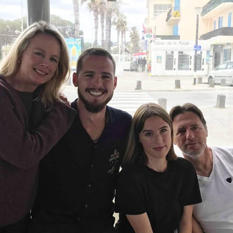 Kristi Max Jackie Jean-Marc Espinasse family
