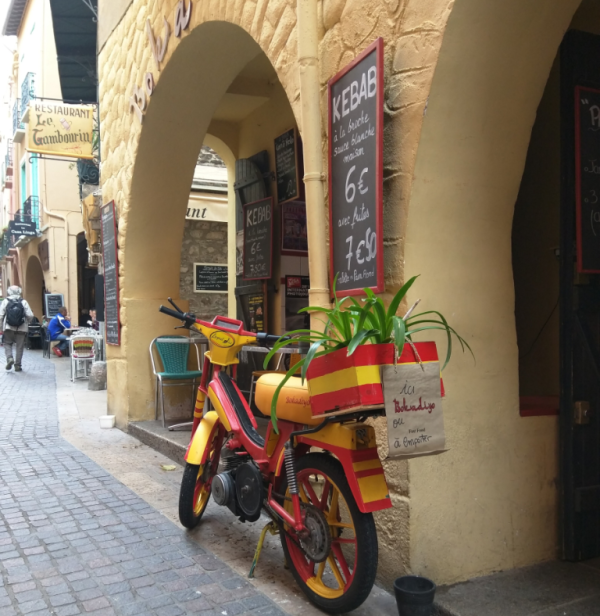 Deux-roues in collioures