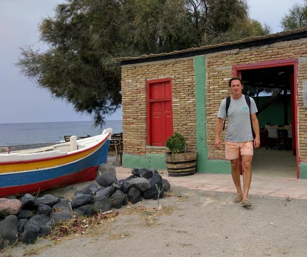Jean-Marc wooden boat