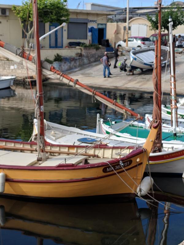 Pointus fishing boats