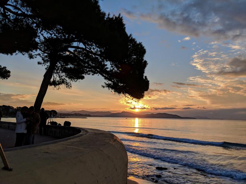 Sunrise in La Ciotat