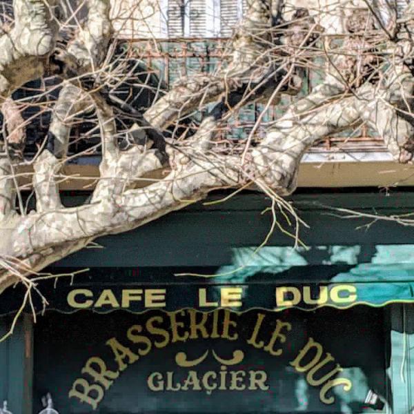 Cafe brasserie le duc