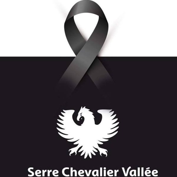In honor of victims Serre Chevalier