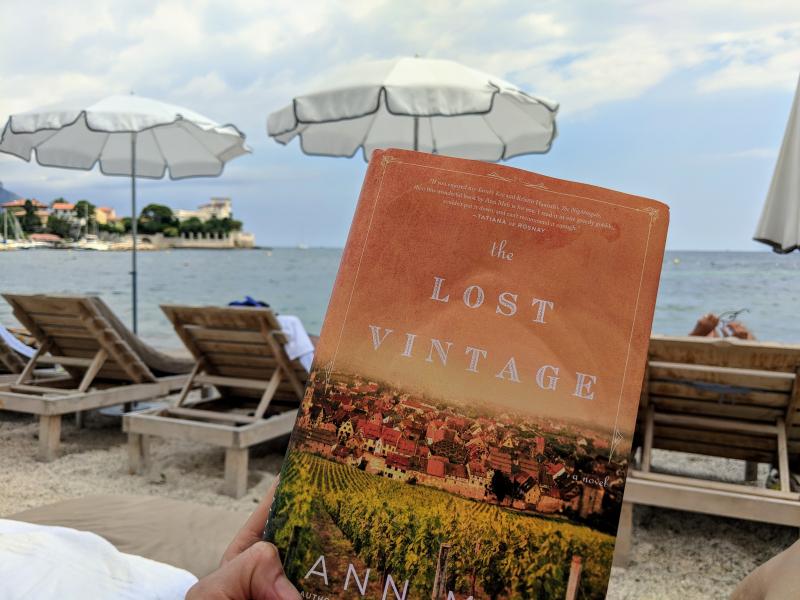 Ann mah the lost vintage novel in beaulieu-sur-mer France