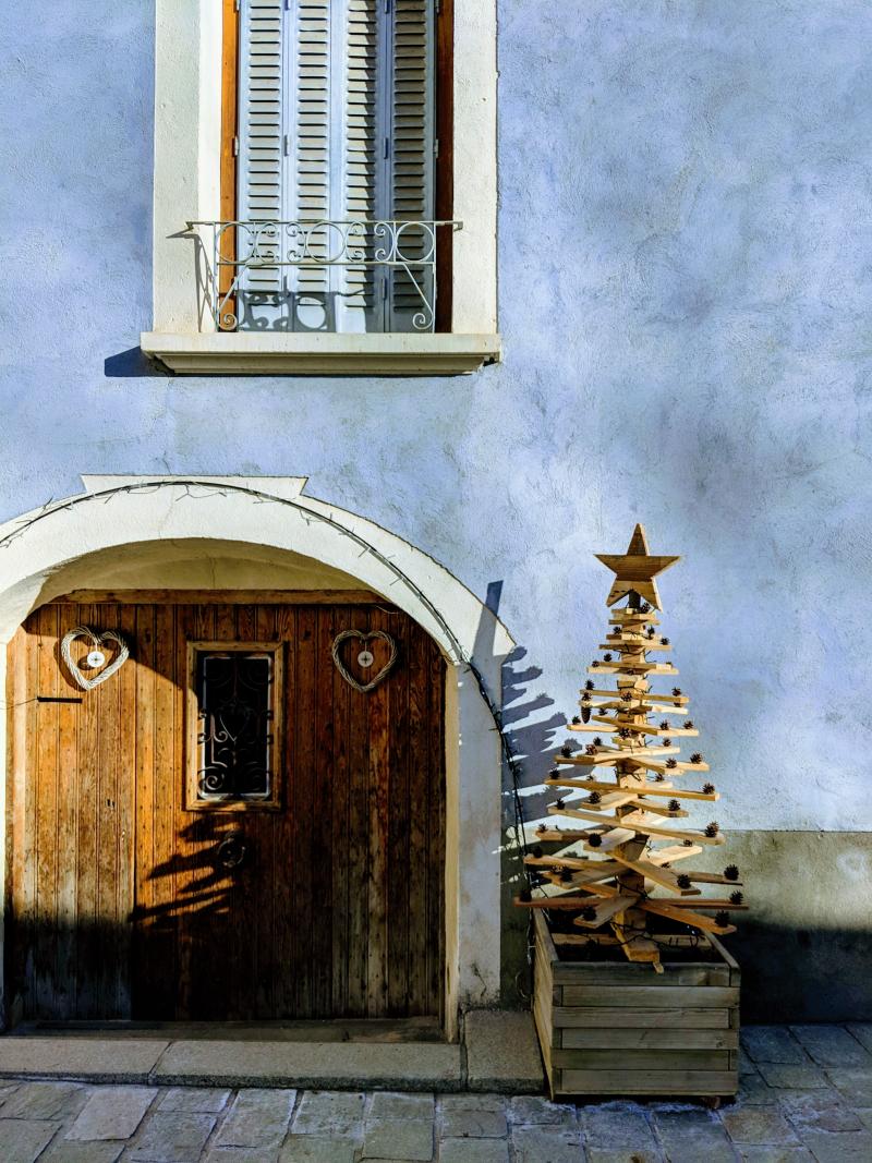 Maison de village in saint chaffrey alps