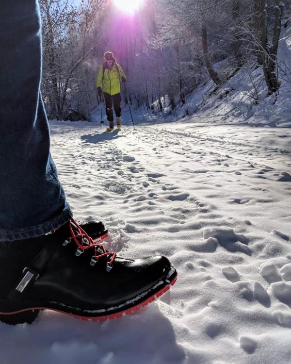 Hautes alps piste trail hiking boots ski de randonne