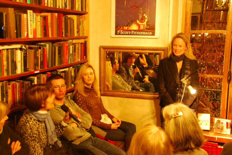 Talk at Shakespeare and Company in 2010