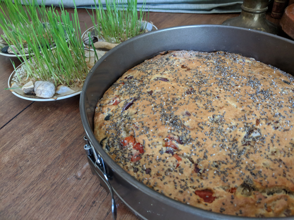 Cake sale savory cake wheat grass germe de ble
