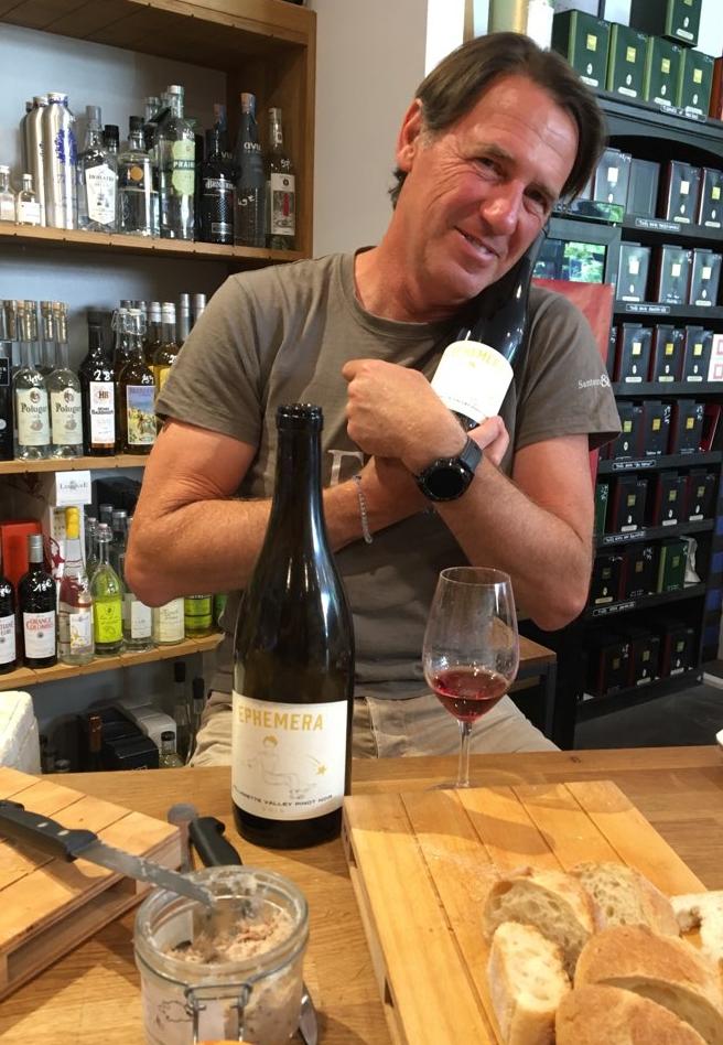 Jean-Marc Espinasse and his Oregon wine Ephemere Ephemera