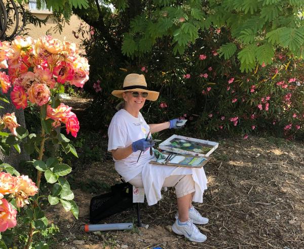 Painting tour artistic retreat Provence France