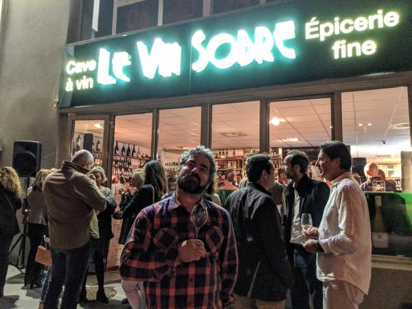 Lionel brasserie alphand le vin sobre la ciotat jean-marc espinasse
