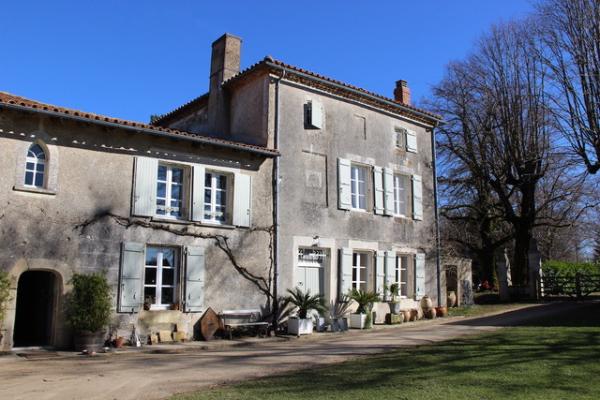Limetree house Montemboeuf
