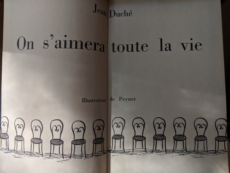 Drawings from the book on s aimera toute la vie