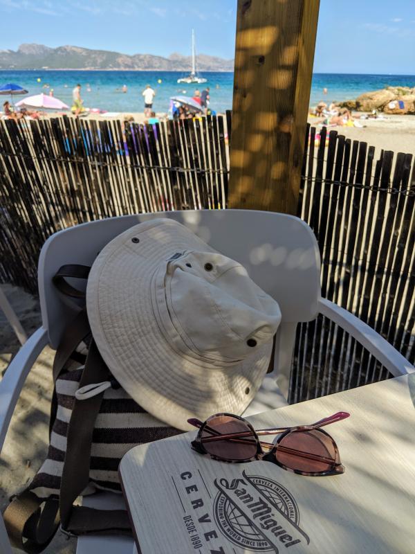 Beach in majorca spain