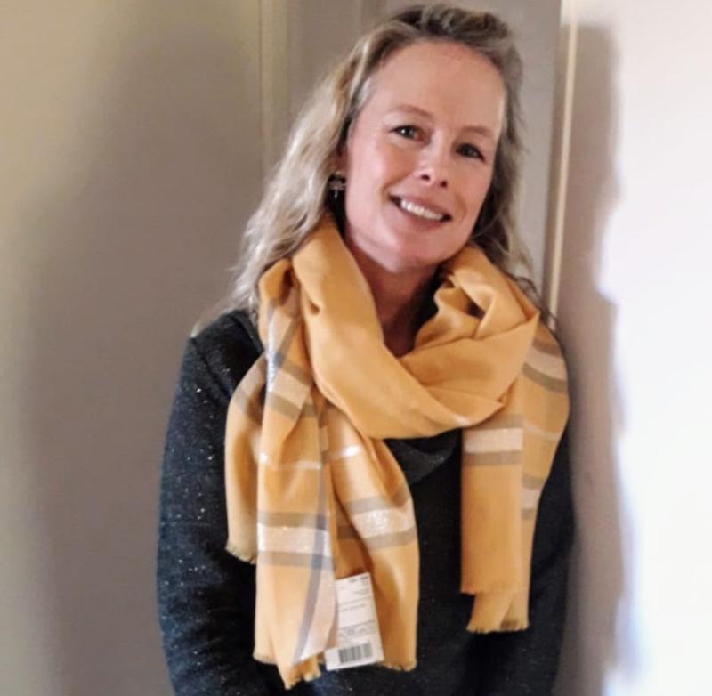 Kristi new scarf