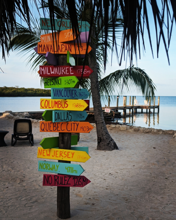 Signs in key west florida