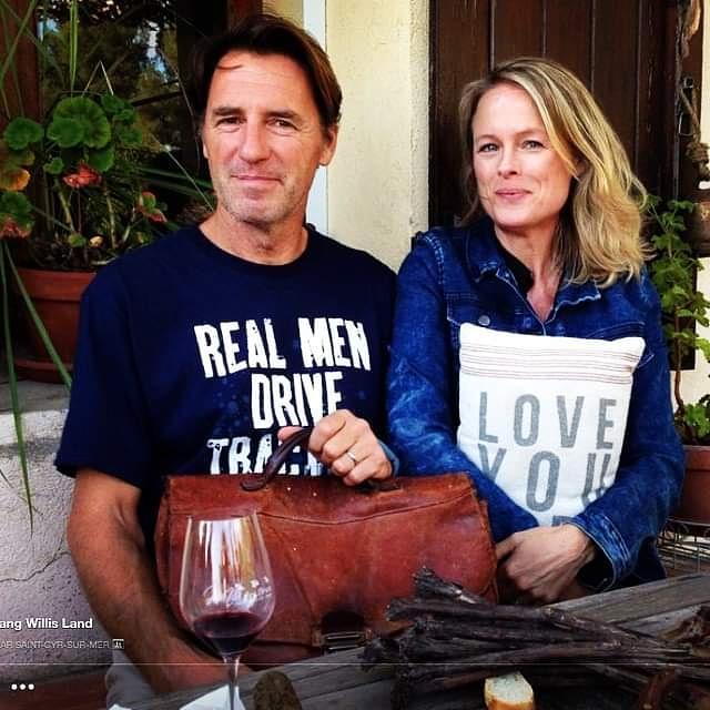 Kristi and Jean-Marc with Mr Sacks