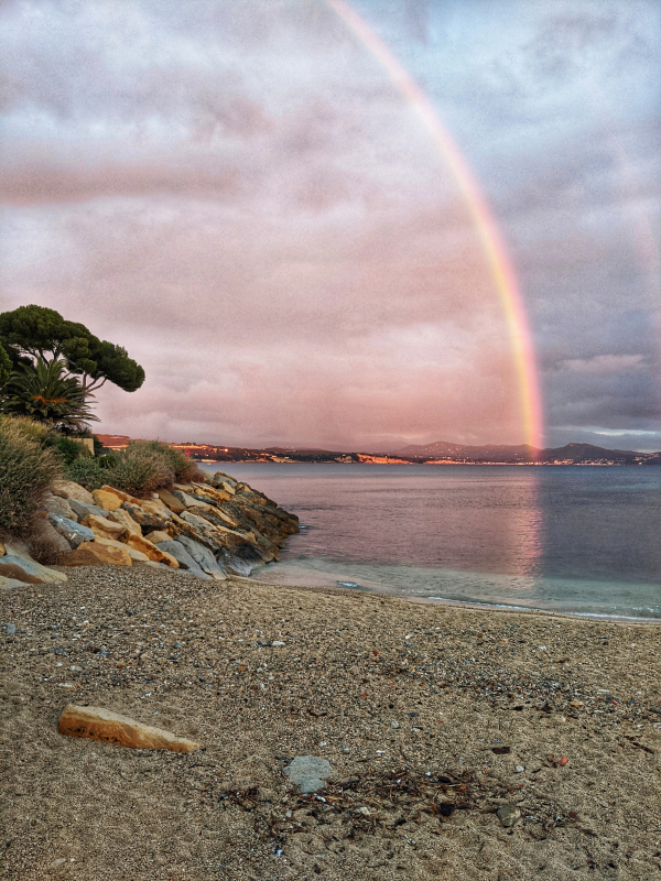Rainbow in La Ciotat