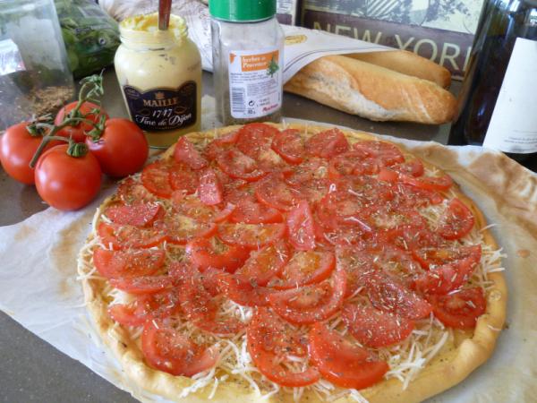 Tomato tart tarte tomate recipe recette