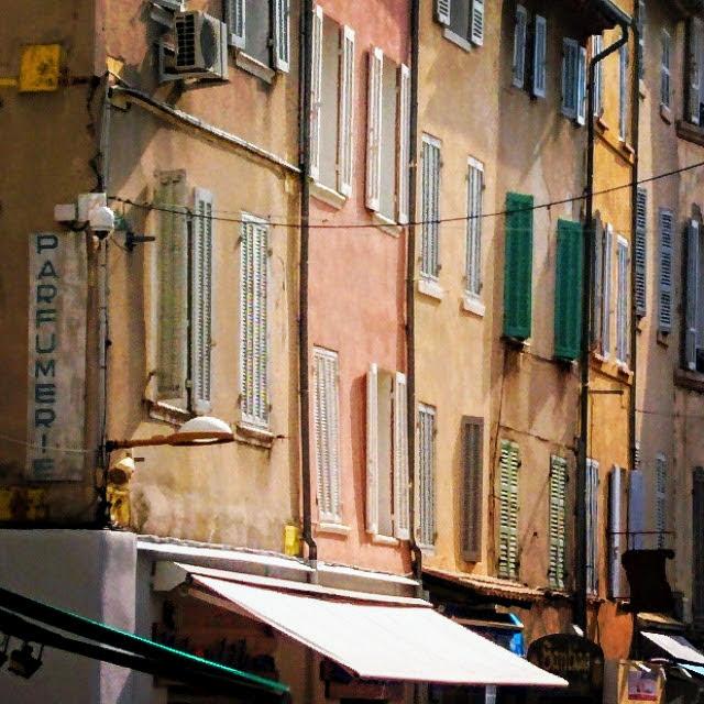 La ciotat france colorful buildings