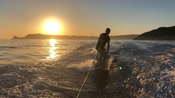 Max wakeboarding bay of la ciotat