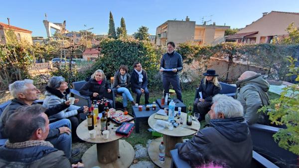 The Bitter Orange Wine and Jam confiture marmalade contest participants in La Ciotat